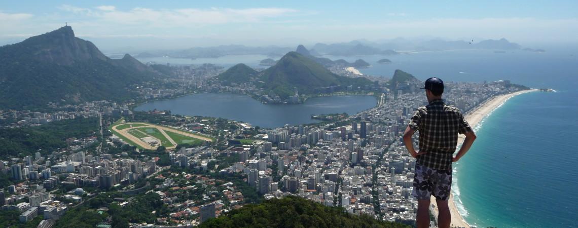 Summer heat and marvelous views in Rio de Janeiro